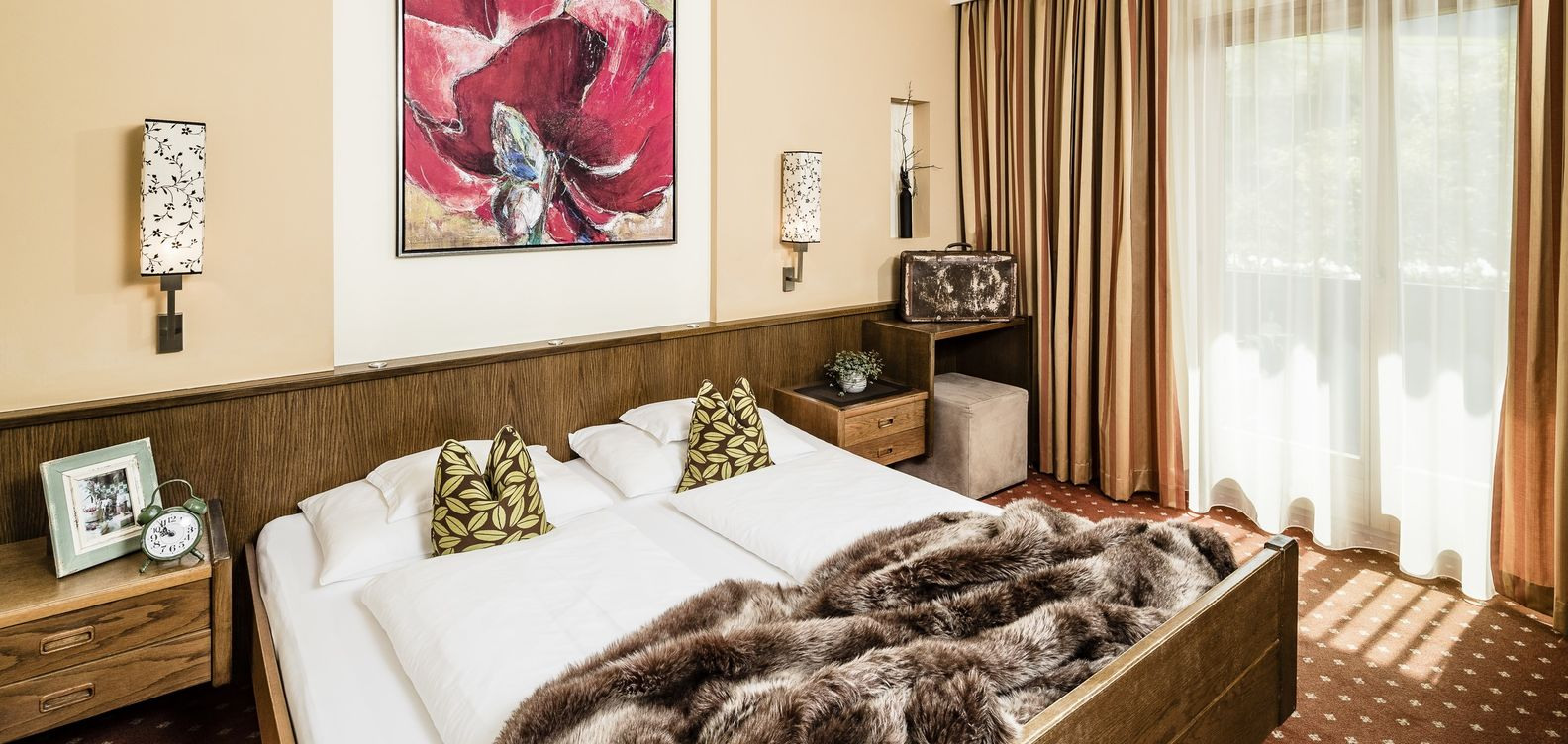 Double room harmonie at 4 star Hotel Mesnerwirt