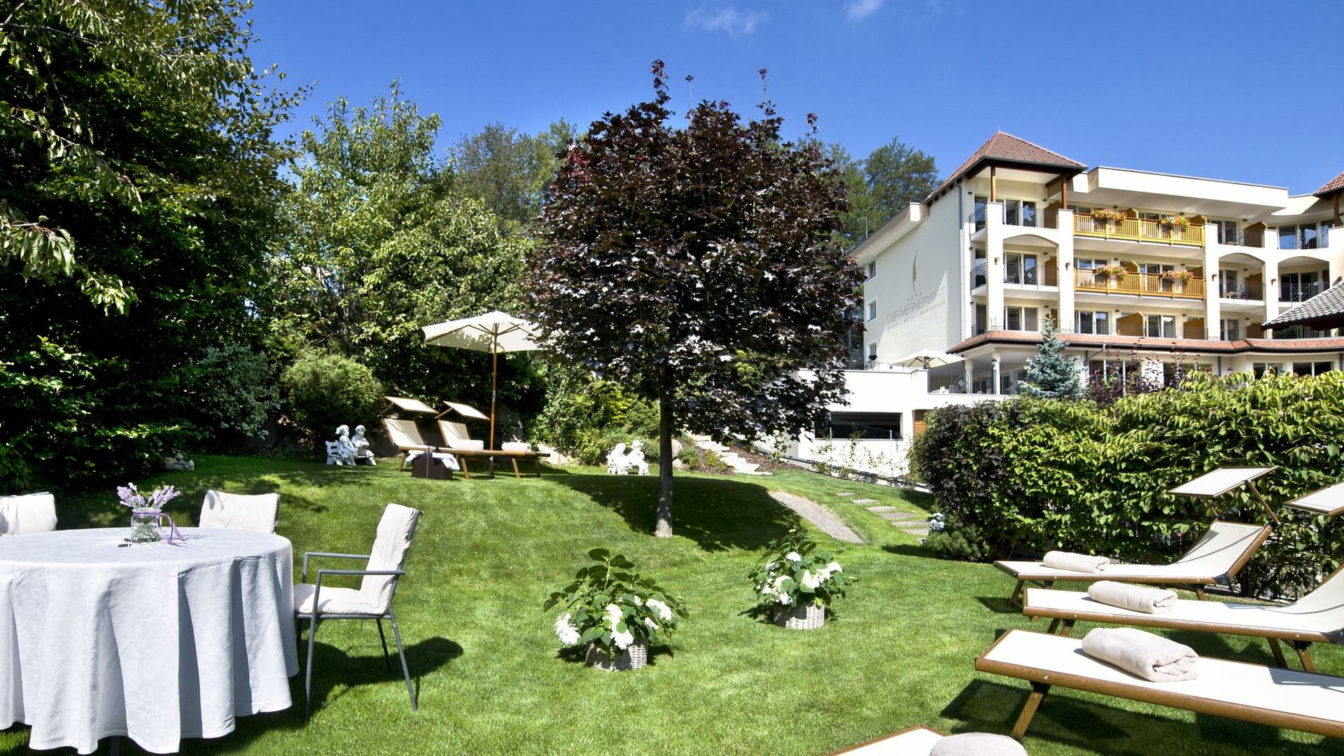 Holiday In South Tyrol In The Hotel With Garden In Merano.